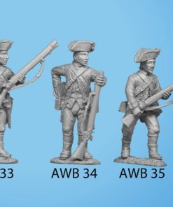 Advancing holding musket with bayonet across chest