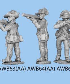 Standing firing leaning forward slightly