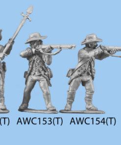 Standing firing, legs closer together