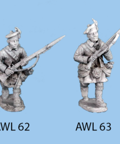 Advancing, with musket up across chest