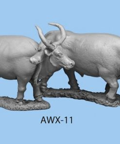Pair of Oxen to pull carts or wagons