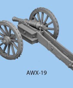 British 6 lb gun