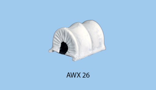 Canvas top for two wheeled carts AWX 7 & 8