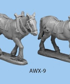 Pair of Horses to pull carts or wagons